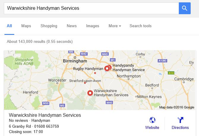 Google Maps Listing Demo SEO
