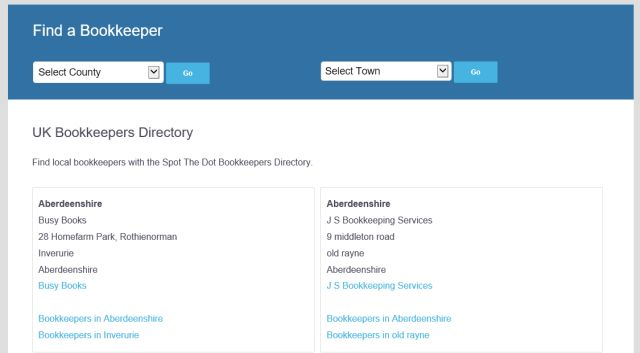 UK Bookkeepers Directory